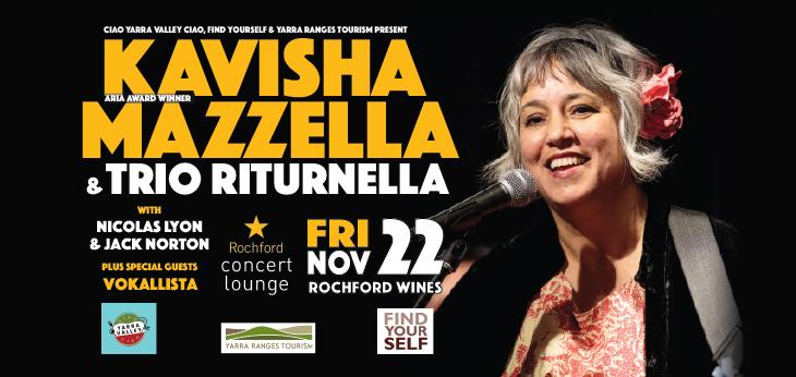 Kavisha Mazzella & Trio Riturnella